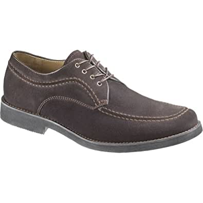 Men's Hush Puppies Commemorate (12 M in Brown Washed Suede)