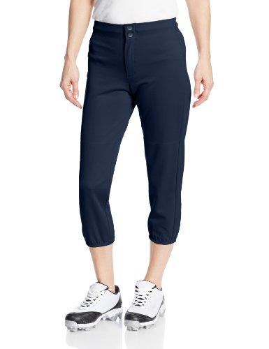 Intensity Women's Low Rise Double Knit Pant, Large, Navy