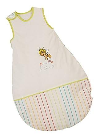 roba Schlafsack, 70cm, Babyschlafsack ganzjahres/ganzjährig, aus atmungsaktiver Baumwolle, Schlummersack unisex, Kollektion 'Adam & Eule' 1402 P148