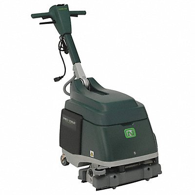 Nobles Walk Behind Floor Scrubber Micro 15 in. NOBLES INDUSTRIES 4VDR3