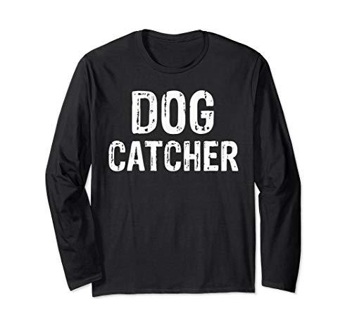 Halloween Dog Catcher Costume T-Shirt Long Sleeve