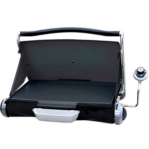 rtable Propane Gas Grill, Black (Premium Oak Trucks)