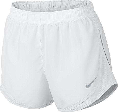 Nike Women's Dry Tempo Short, White/White/Wolf Grey, X-Large