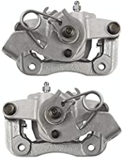 AutoShack BC30460PR Pair Set of 2 Rear Driver and Passenger Side Disc Brake Caliper Assembly Replacement for 2011 2012 2013 2014 2015 2016 Hyundai Elantra 2013-2014 Elantra Coupe 1.8L 2.0L FWD