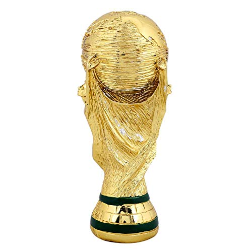 Jadpes Resin Trophy Resin Soccer Football Game Award Trophy Model Artwork Collection Home Display Student Gift(13cm)