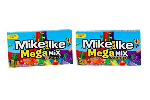 - *New Flavor* Mike and Ike Megamix Theater Box (2 Pack)