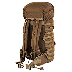 Snugpak Endurance Tactical Backpack with MOLLE Webbing, 600D Heavy Duty Nylon, 40 Liter, Coyote Tan