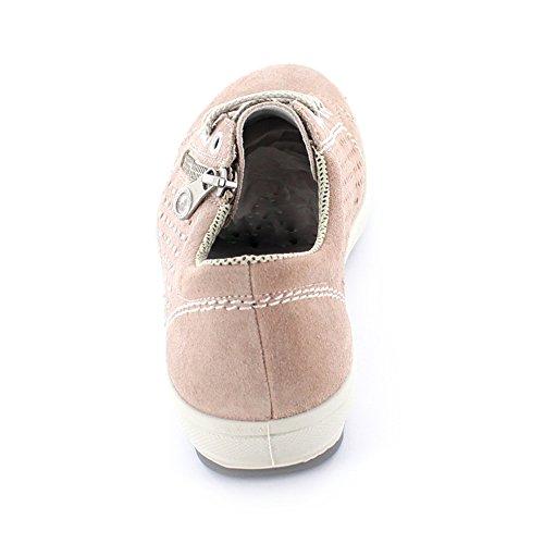 Rieker M6003, Zapatillas para Mujer color carne