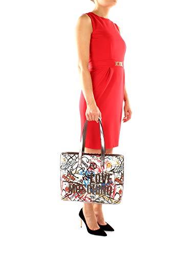 Women White Love JC4092PP16LN0 Moschino bags PVC Shoulder Z0fq4wg