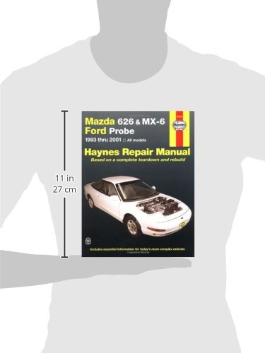 mazda 626 mx 6 and ford probe 1993 2001 automotive repair rh amazon com 2001 Mazda 626 Belts 2001 mazda 626 owners manual