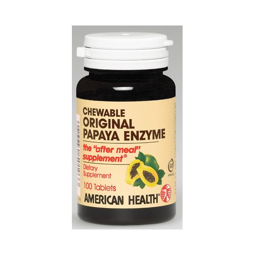 American Health Papaya Enzyme Orgnl