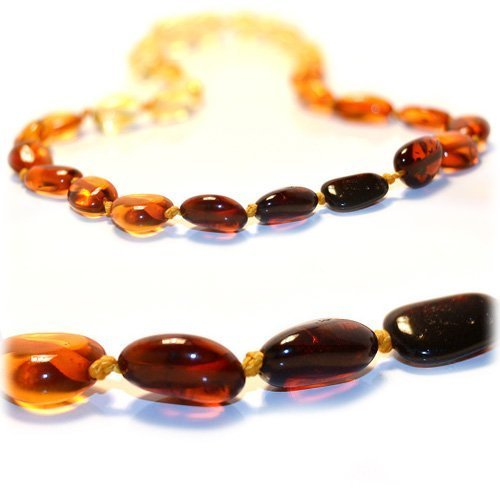 【メーカー公式ショップ】 Certified Baltic Amber Teething Necklace Certified for Baby (Rainbow Art bean) for - Anti-inflammatory by The Art of Cure B003Y5U4D6, TROIKA Design Store:df5e0ef1 --- a0267596.xsph.ru