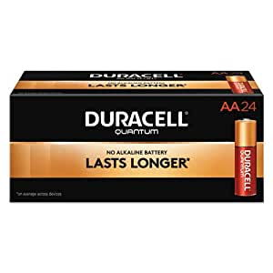 Amazon.com: DURQU1500BKD - Duracell Quantum AA Batteries