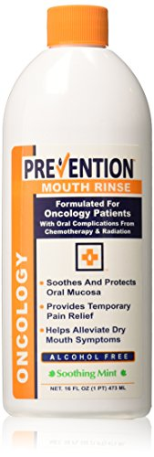 (Oncology Mouth Rinse by Prevention Health Sciences|Soothes and Protects|Temporary Relief From Chemo and Radiation Treatment-Related Dry Mouth, Mouth Sores, and Oral Complications|Alcohol-Free|16 Ounce)