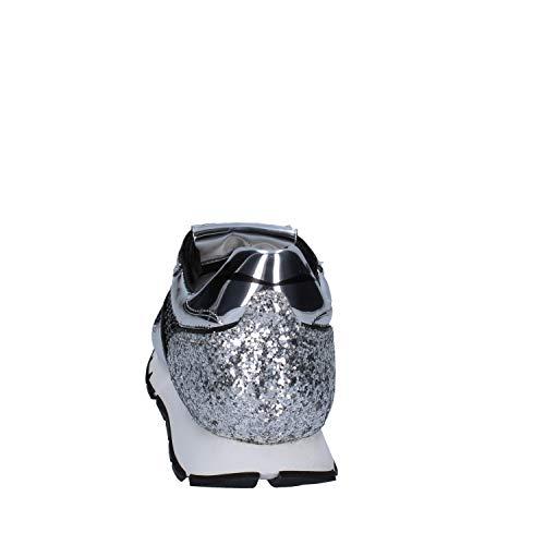 Zapatillas Deporte Blanche Textil Mujer Negro De Voile O6Zqq