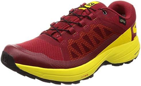 トレイルランニングシューズ XA Elevate Gore-TEX (エックスエー エレベート ゴアテックス) メンズ Red Dahlia/Empire Yellow/Black 25.5cm