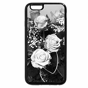 iPhone 6S Case, iPhone 6 Case (Black & White) - Pink Joy