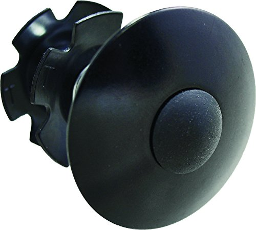 Headset Cap 1-1/8in Threadless Black
