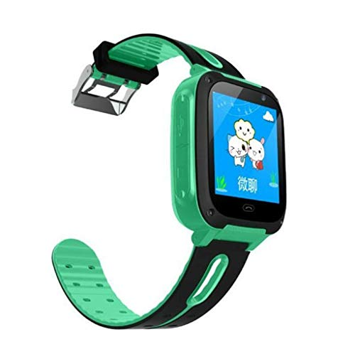 Clearance!Smart Watch for Kids Men Women,S4 Kids Smart Watch Phone, LBS/GPS SIM Card Child SOS Call Locator Camera Screen - Best Gift for Kids (Green)