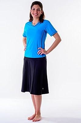 HydroChic Women's Swim Skirt – Activewear Skirt with Leggings