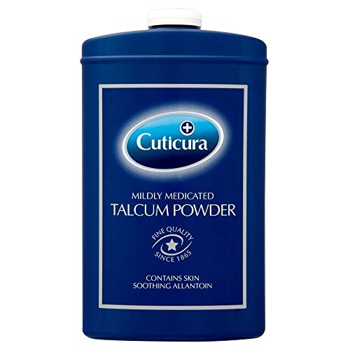Cuticura Mildly Medicated Talcum Powder (250g) - Pack of 6 by Cuticura