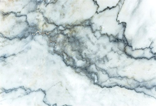 CSFOTO 5x3ft Background for Marble Stone Texture Photography Backdrop White Gray Texture Retro Abstract Architecture Wall Stone Grey Floor Tile Nature Decor Photo Studio Props Polyester (100 Floor Level 15 Halloween)