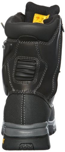 SB Black Leather Supremacy HRO UK W P 12 Boots Safety Cat Mens wxEYzqnzB