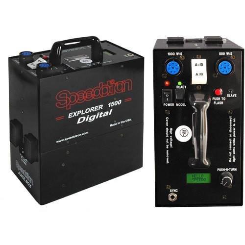 Speedotron Explorer 1500 Digital Portable AC/DC Power Supply, 220V by Speedotron