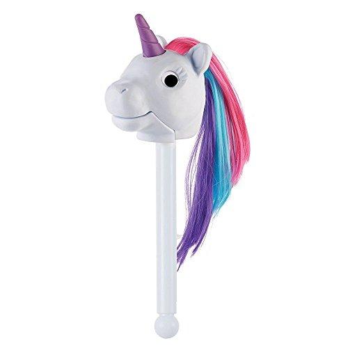 Rainbow Prancers Puppet Stick Unicorn