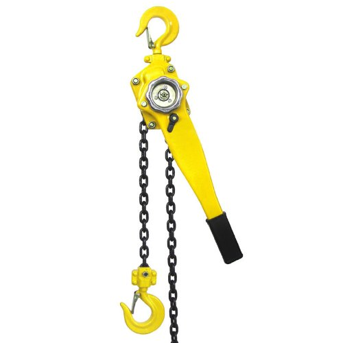 XtremepowerUS Lift Lever Block Chain Hoist Comealong Lift Puller (3/4 Ton 20') by XtremepowerUS