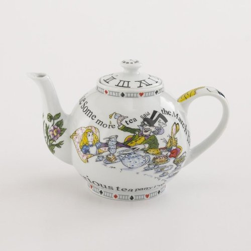 Paul Cardew Alice in Wonderland Teapot 4 Cup, 32 Oz by Cardew Design