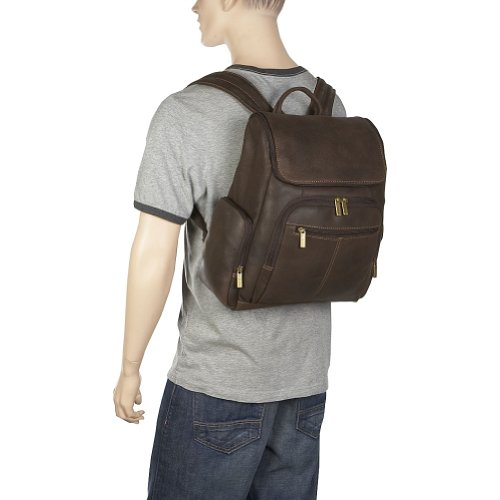 Amazon.com: Distressed Leather Laptop Backpack: Clothing