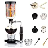 Syphon Coffee Maker Japanese Style Vacuum Glass Siphon Pot Percolators 1-3 Cups Siphon