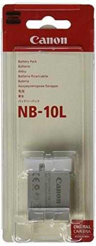 Canon Battery Pack NB-10L (Rechargeable Lithium-Ion Battery) (Canon G15 Camera)