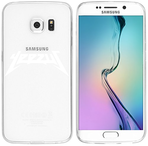 Samsung S6 Edge Caso por licaso® para el patrón de Samsung S6 Edge TPU Yeezus Kanye West America de silicona ultra-delgada proteger su Samsung S6 Edge es elegante y cubierta regalo de coches Yeezus