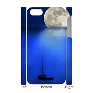 Moon 3D-Printed ZLB600665 Personalized 3D Phone Case for Iphone 4,4S