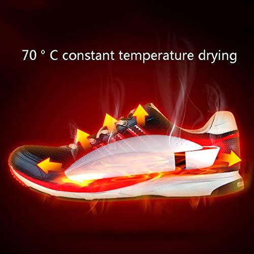 ℃ Prueba Doble Desodorante Humedad Calefacción Dryer Para Cálido Portátil Shoe A Zapatos Núcleo Secador 70 Calzado Invierno Esterilización Eléctrico El Botas Ptc Escalable De RpZAvq