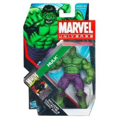 Marvel Universe Series 4 Action Figure #19 Incredible Hulk 3.75 (Marvel Universe Green)