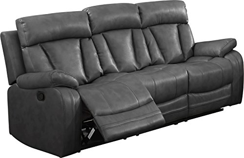 NHI Express Benjamin Motion Sofa (1 Pack), Gray