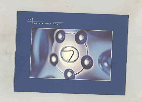 Sc Coupe - 1996 Lexus LS400 GS300 ES300 SC Coupe Small Brochure