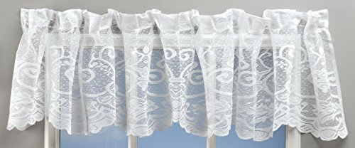 Miles Kimball Magnetic Floral Lace Valance