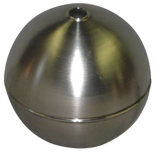 Naugatuck - GRT40S421A - Round Float Ball, 7.58 oz., 4 dia., Stainless Steel by NAUGATUCK (Image #1)