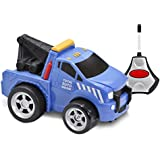 Kid Galaxy Soft and Squeezable Radio Control Tow Truck
