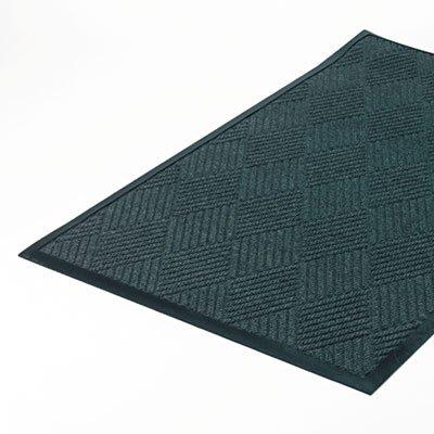 Super-Soaker Diamond Mat, Polypropylene, 34 x 58, Slate, Sold as 1 Each - Crown Super Soaker Wiper Mat