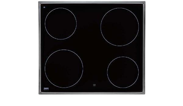 Zanussi ZC 6675 X hobs Integrado Con - Placa (Integrado, Con ...