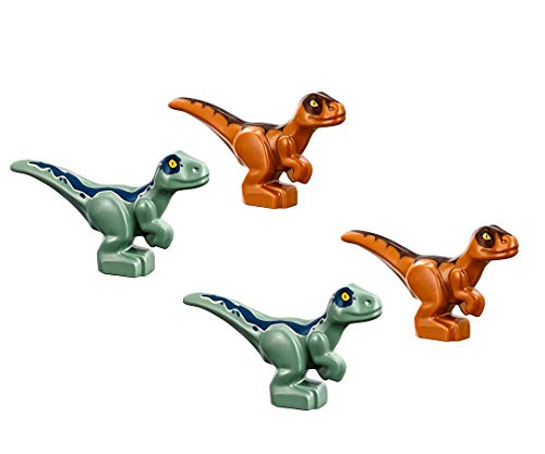LEGO Jurassic World 4 Baby Dinosaurs Green & Brown | New for 2018 | Very Small