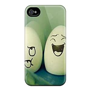 PopFront Perfect Tpu Case For Iphone 4/4s/ Anti-scratch Protector Case (eggs)