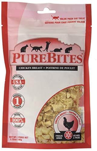 Purebites Chicken Breast For Cats, 2.3Oz / 66G - Super Value Size