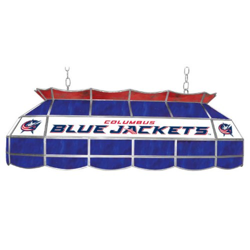 NHL Columbus Blue Jackets Tiffany Gameroom Lamp, 40'' by Trademark Gameroom