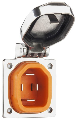 SmartPlug BM50S, 50 amp boat side inlet-Shorepower Products and Accessories for your Sailboat, Fishing Boat, Power Boat or Yacht by SmartPlug